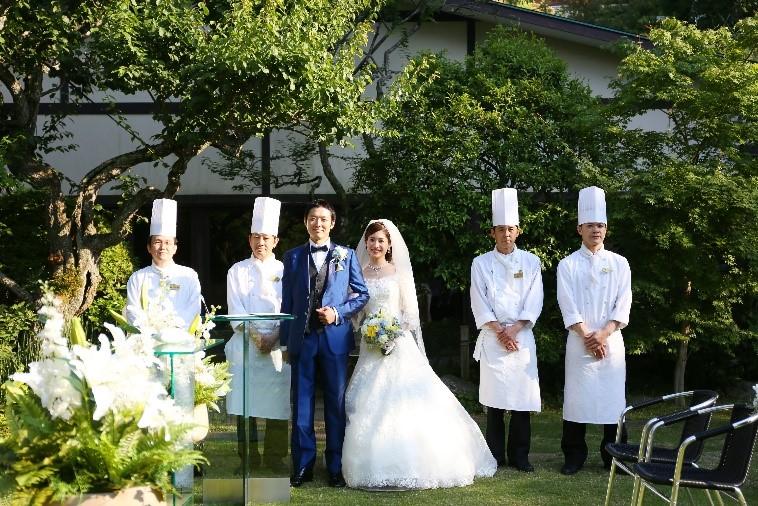 大人花嫁おすすめ!<br />美食でおもてなし<br />鎌倉老舗レストランウェディング