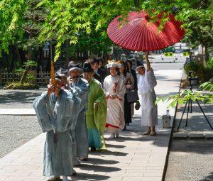 平塚八幡宮での結婚式ご案内☆