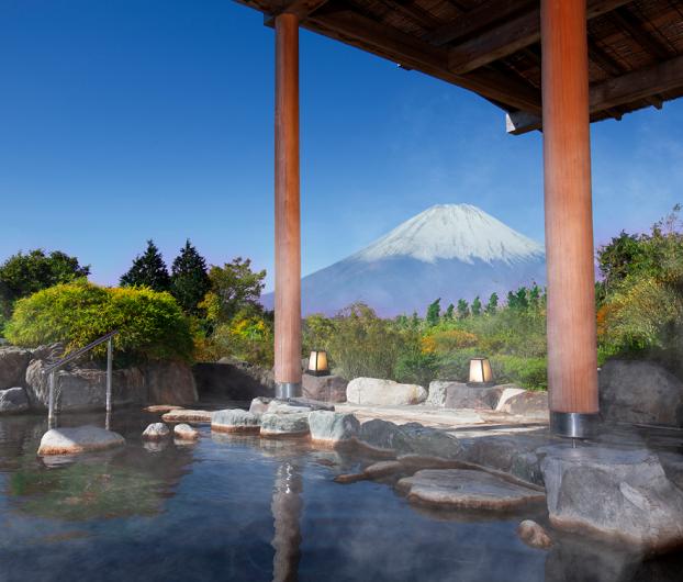 箱根・温泉が<br />大好きなおふたりに