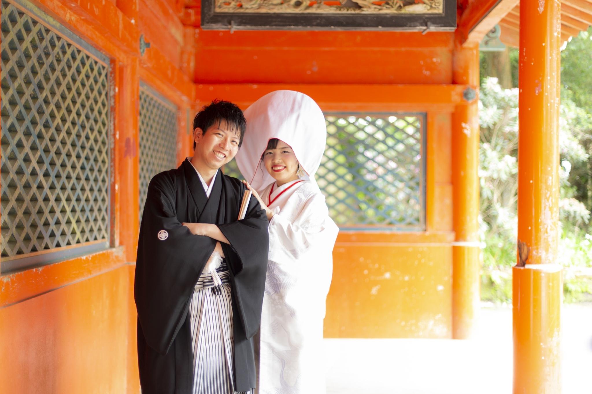 【箱根神社】<br/>神前式とお好きな旅館への<br/>1泊2日温泉旅行プラン