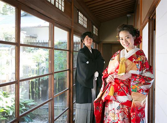 「由緒ある神社」松原神社と 風情ある古民家で 家族の絆を大切にした 心温まるウェディングを☆