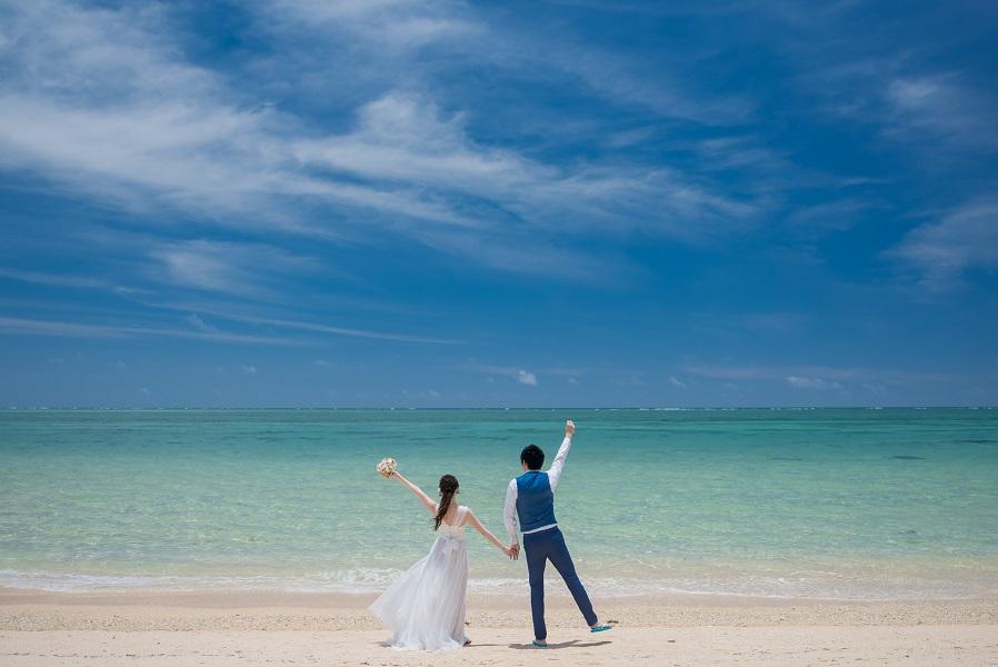 沖縄でしか残せない写真を♡<br/>花嫁人気NO1フォトウェディング