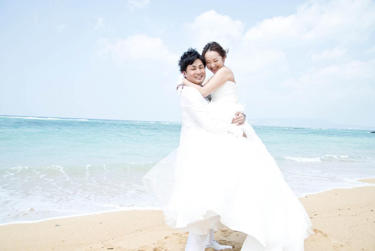 【結いウェディング】沖縄ビーチフォトシンプルプラン