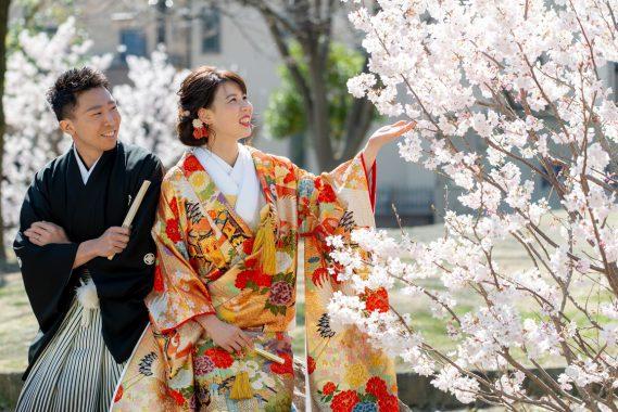 日本の大切な伝統美<br/>和装フォトウェディング