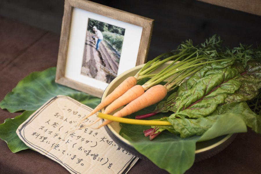 夫婦野菜&引出物野菜