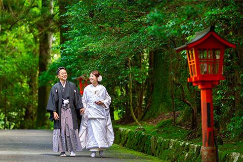 神社挙式+宿泊<br/>大山阿夫利神社ウェディング