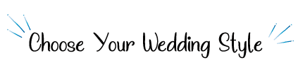 Choose your wedding plan★