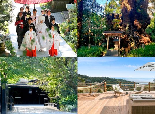新婚旅行としても人気急上昇中の熱海 心地よい自然溢れるリゾ―ト地で ゲストに喜ばれる癒しの結婚式を