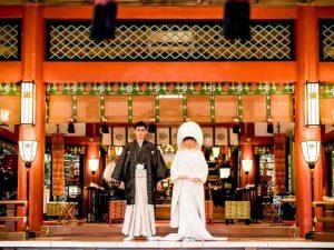 ◆観光Wedding熱海ver.◆<BR>来宮神社挙式×大観荘×熱海観光