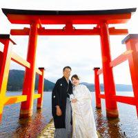 箱根神社挙式×マタニティ婚♥
