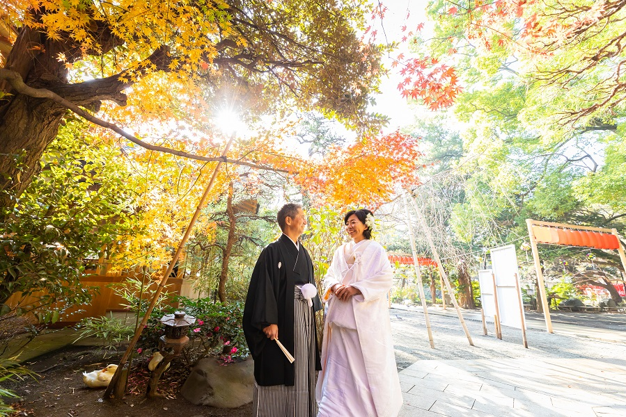 【平塚八幡宮】<br/>湘南 雅楽の音色に包まれて<br/>お得な和婚プラン