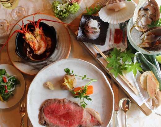 美味しいお料理でゲストも大満足! 大人カップルおすすめ☆ 鎌倉レストランウェディング