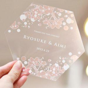 ◆コロナ渦の結婚式に◆<BR>~席札アイディア編~