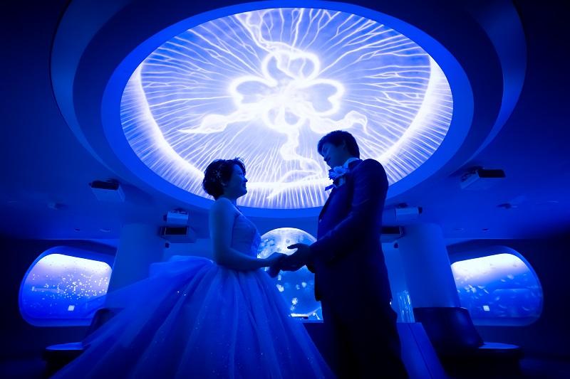 大好きな新江ノ島水族館フォトウェディング!夢が叶いました♡(I様)