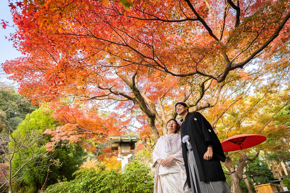 【鎌倉古今】<br/>鎌倉宮挙式×家族婚<br/>宿泊付プラン
