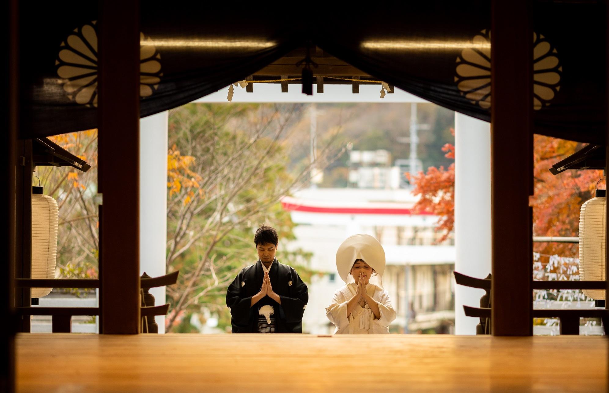 【鎌倉古今】<br/>鎌倉宮挙式×食事会プラン