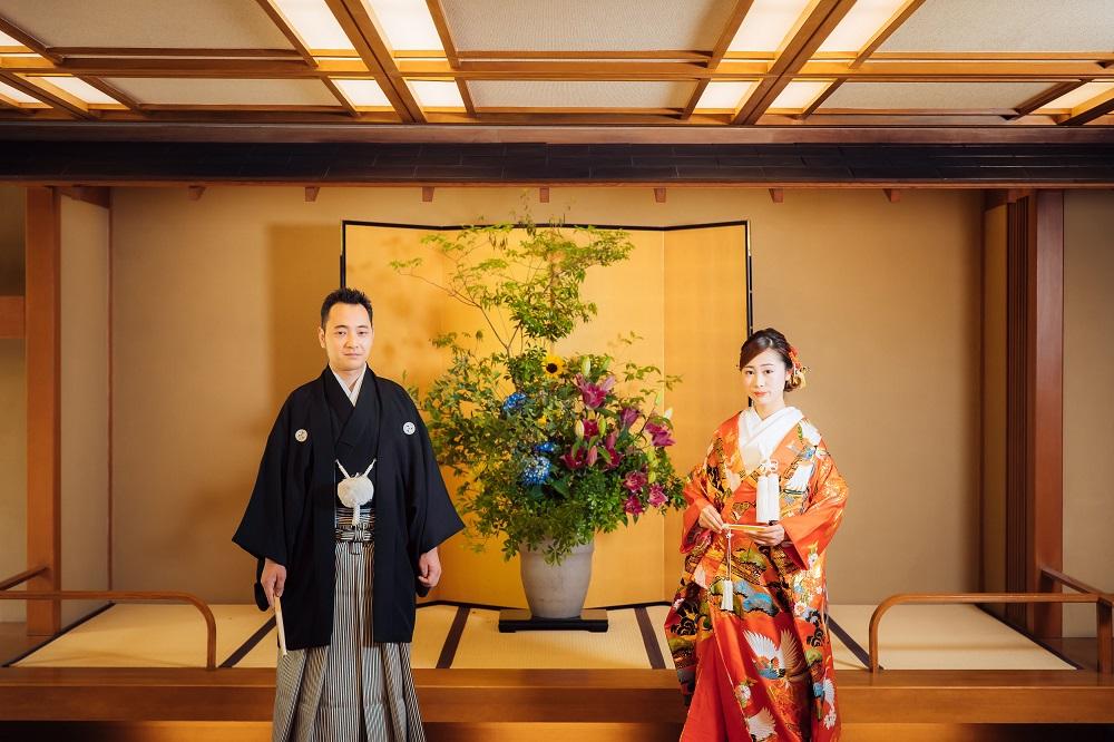 【料亭旅館 小嵐亭】<br/>来宮神社挙式×宿泊付きプラン