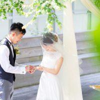 ガーデン挙式×2部制Wedding♥