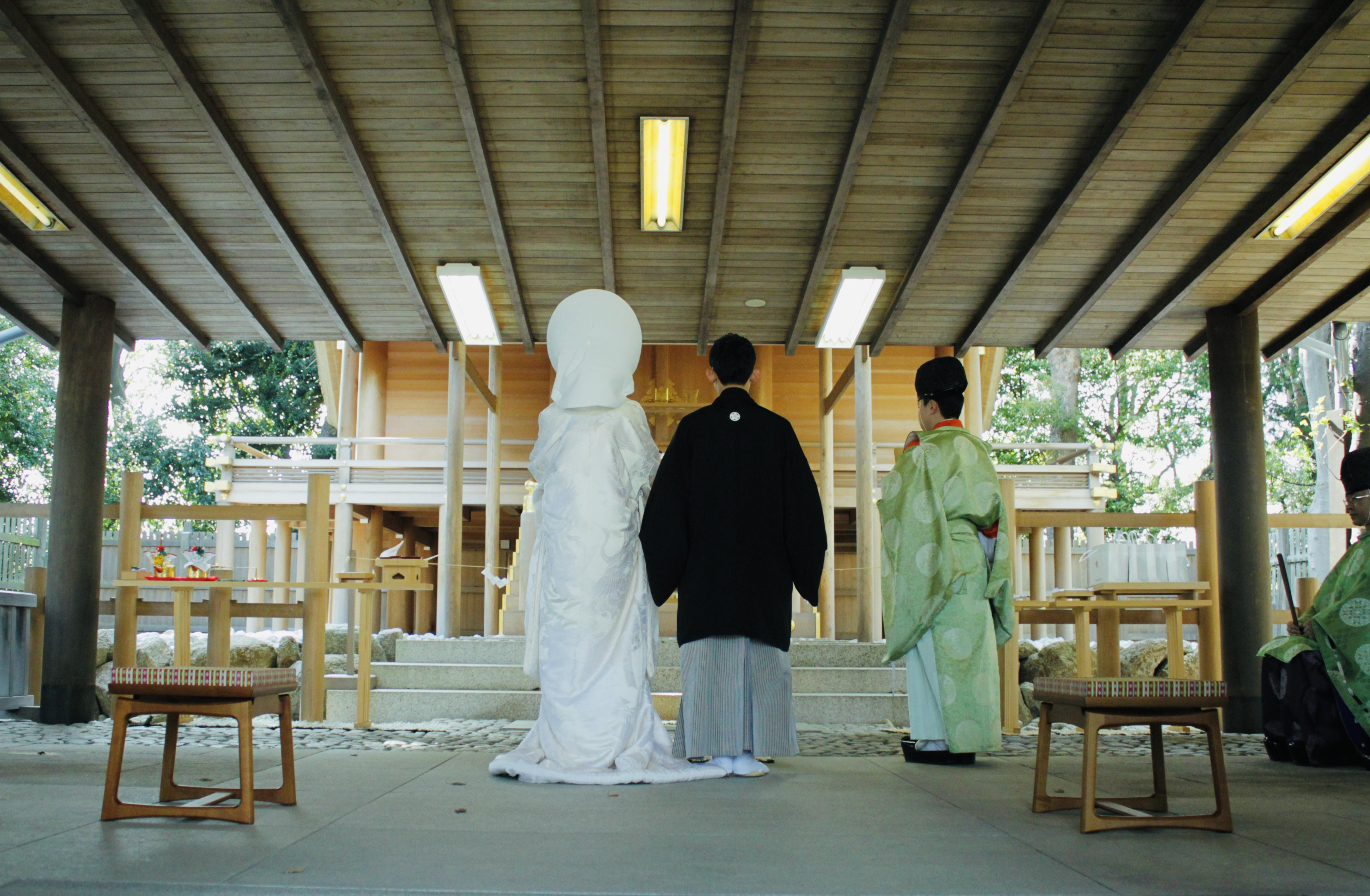 伊勢山皇大神宮「結婚式」詳細について