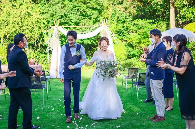 家族だけの結婚式♥ローストビーフの店鎌倉山で叶えたおもてなしウェディング(N様)